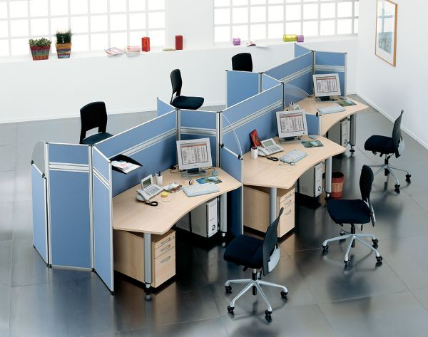 raumteiler trennwand trennw nde stellw nde stellwand callcenter call center. Black Bedroom Furniture Sets. Home Design Ideas